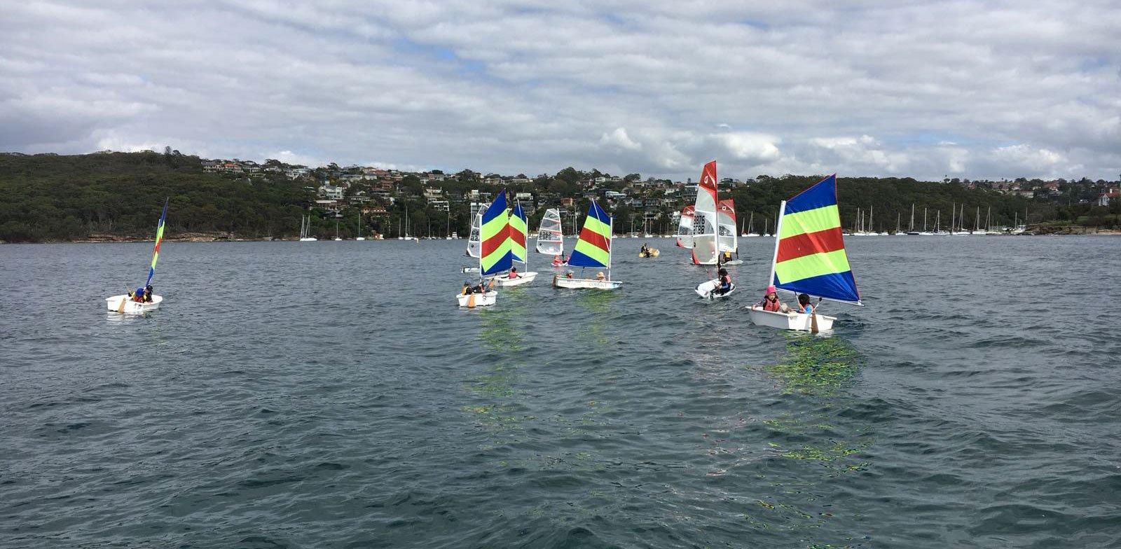 kids sailing course